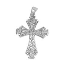 1/3 Carat Diamond Cross Pendant