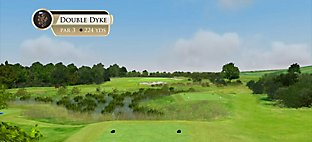 The Duke's – Hole 12 Double Dyke