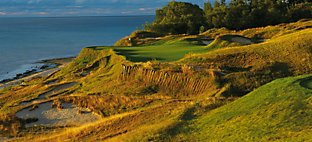 Straits at Whistling Straits - Hole 17 Pinched Nerve