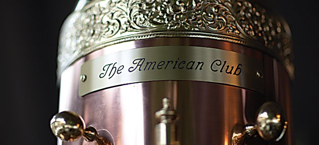 Coffee Urn at The American Club