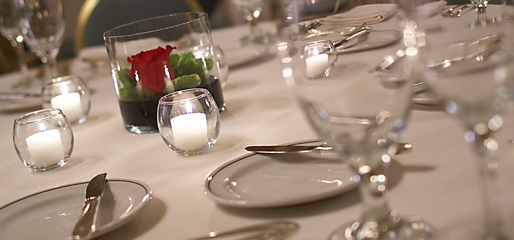 Table Setting at The American Club