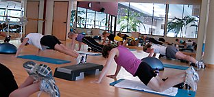 Yoga Class at Sports Core