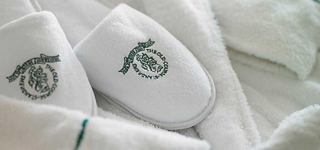 Guest Robe & Slippers at Old Course Hotel