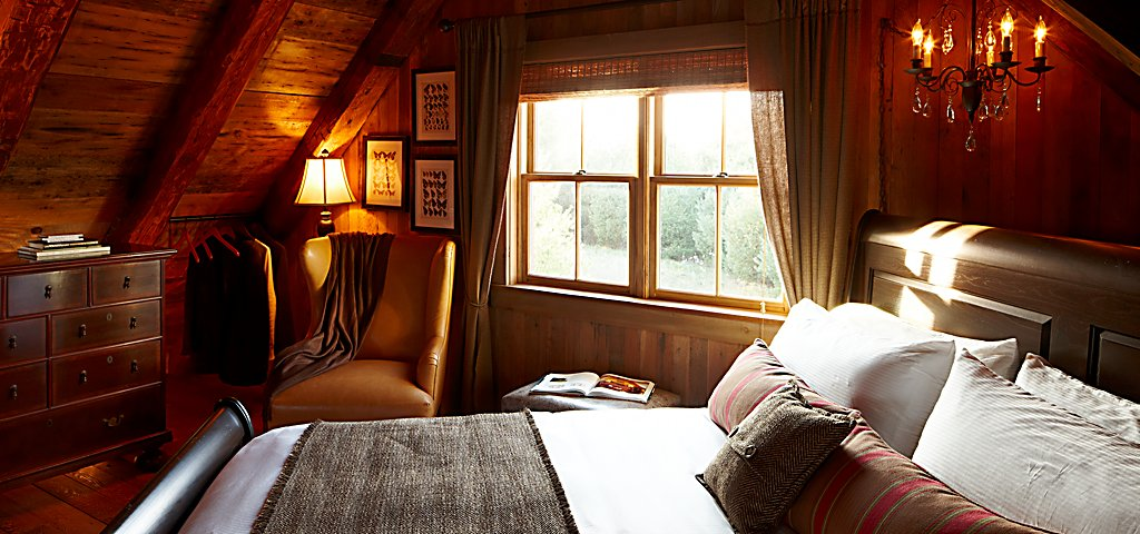Sandhill Cabin Bedroom