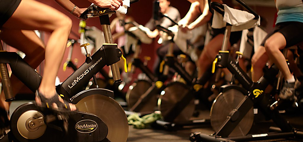 Spinning Class at Sports Core