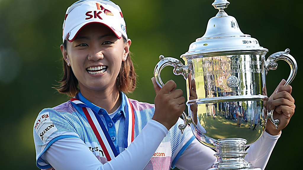 2012 U.S. Women's Open Champion - Na Yeon Choi