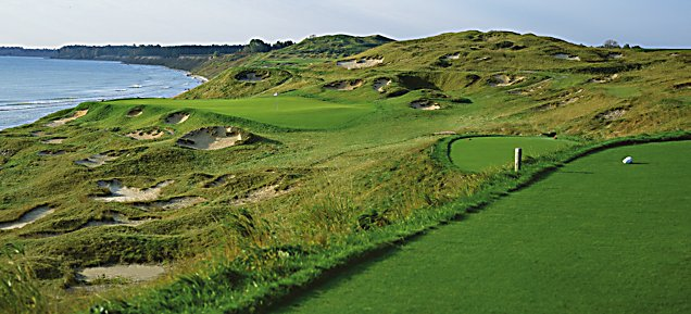 Straits at Whistling Straits - Hole 3 O'Man