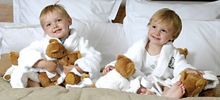 Kids with Teddy Bears