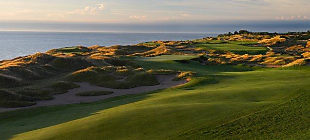 Straits at Whistling Straits - Hole 14 Widow's Watch