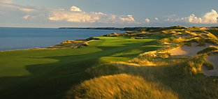 Straits at Whistling Straits - Hole 2 Cross Country