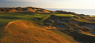 Straits at Whistling Straits - Hole 6 Gremlin's Ear