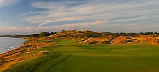 Straits at Whistling Straits - Hole 4 Glory