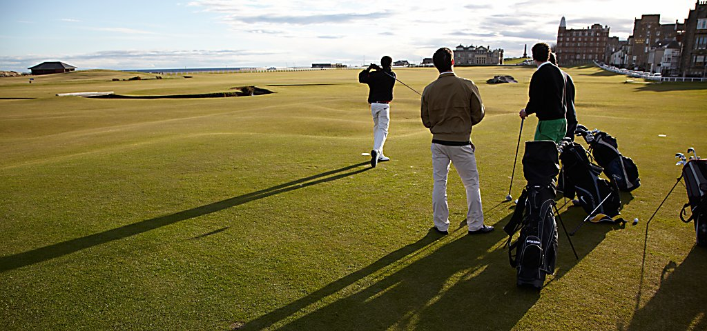 Boy's Getaway at the Old Course Hotel