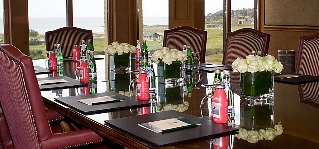 Meeting Set-Up in Boardroom
