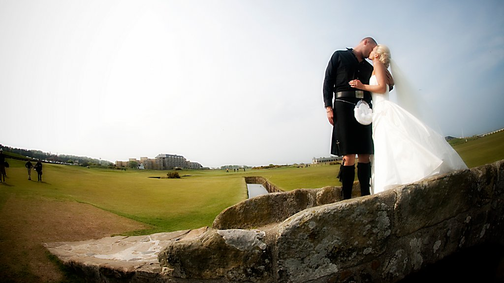 Wedding at Old Course Hotel, Golf Resort & Spa