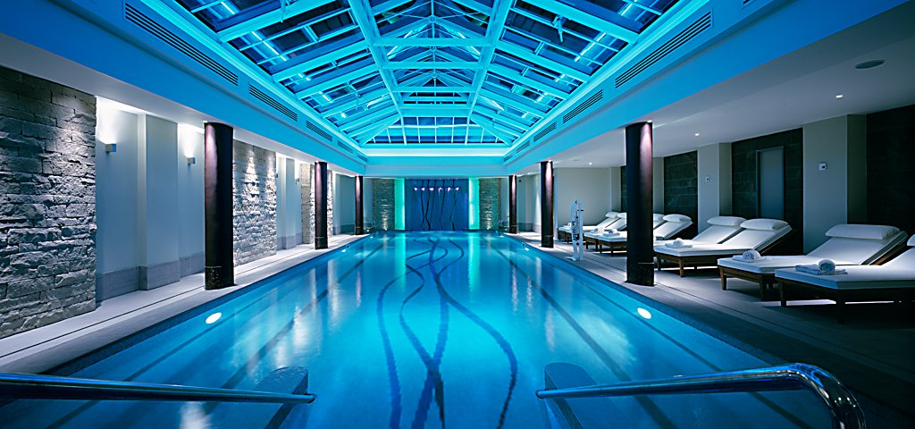 Swimming Pool at Kohler Waters Spa at Old Course Hotel