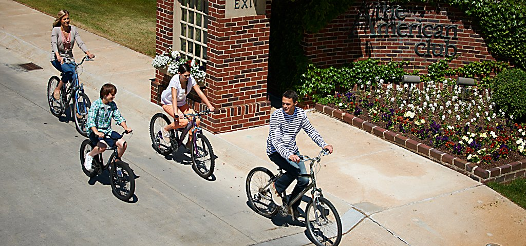 A Family Bike Ride at The American Club Resort