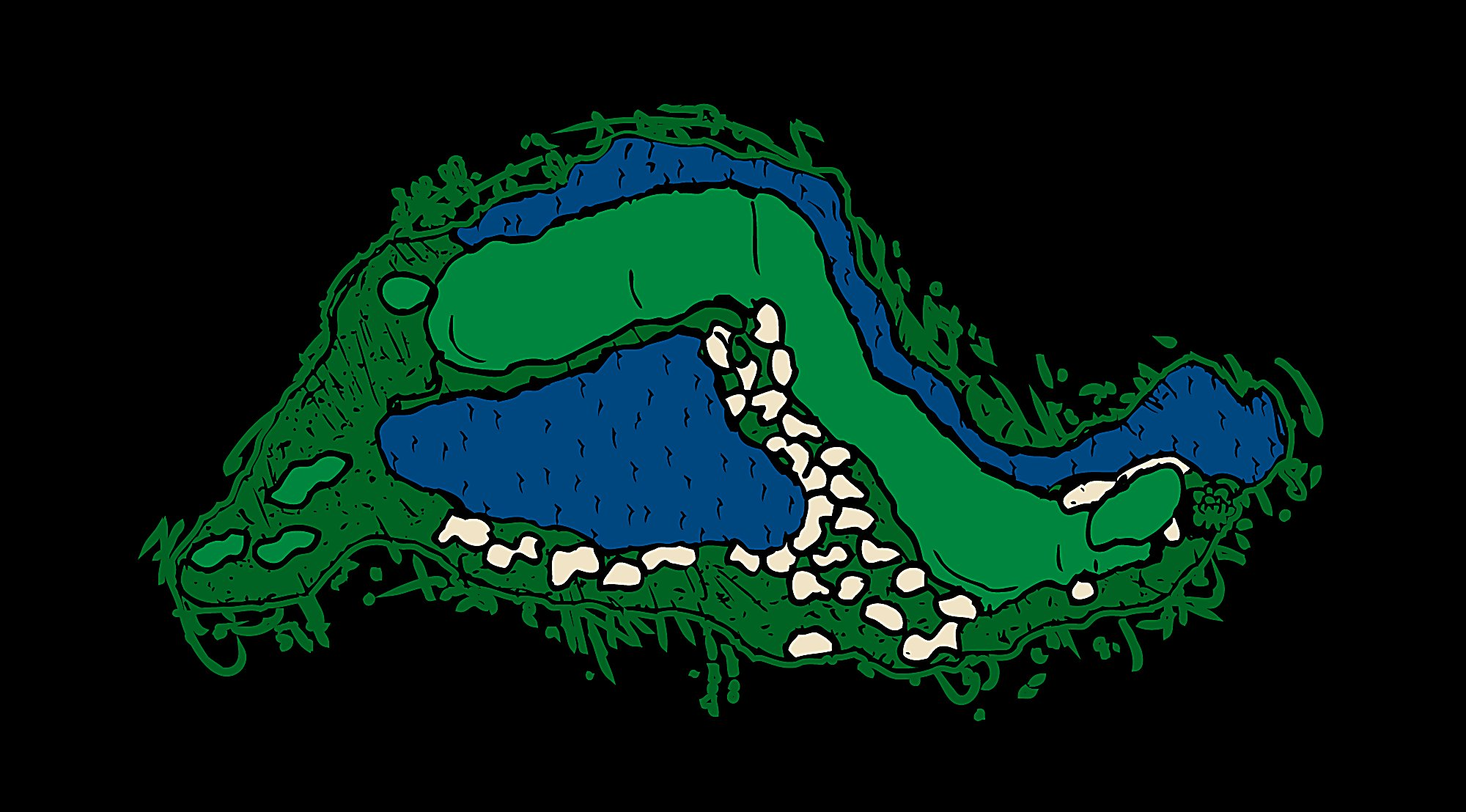 Straits Hole 5 Snake Layout