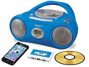 Classroom CD/Cassette Player with Bluetooth®