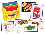 Foods Vocabulary Development Photo Card Library