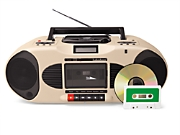 Classroom CD & Single Cassette Player