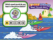Jet Boat Harbor: A Short Vowels Interactive Game
