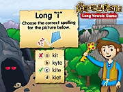 Keeper of the Castle: A Long Vowels Interactive Game