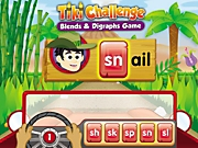 Tiki Challenge: A Blends & Digraphs Interactive Game