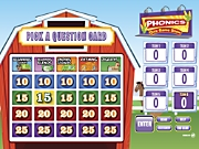 Phonics Quiz Interactive Game Show