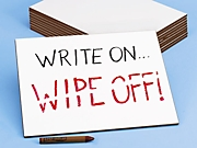 Write & Wipe Lapboard - Set of 10