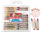 Jumbo People Colors® Crayons