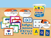 Reading in a Flash! Letter Fun Learning Tub