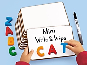 Magnetic Write & Wipe Mini Board