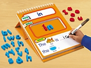 Read, Build & Write Magnetic Sight-Word Board - Level 1