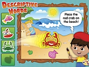 Listening & Following Directions Descriptive Words Interactive Game