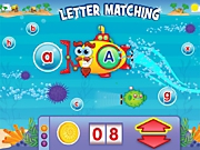 Link-To-Learn Letter Matching Interactive Game