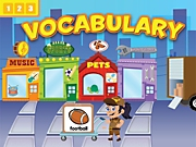 Vocabulary Interactive Games