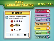 Daily Interactive Language Station - Gr. 1-2