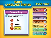 Daily Interactive Language Station - Gr. 3-4