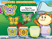 Catch-To-Learn Number Sequencing Interactive Games