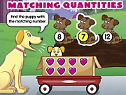 Catch-To-Learn Matching Quantities Interactive Games