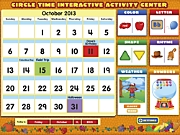 Circle Time Interactive Activity Center