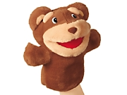 Big Mouth Animal Puppet - Bear