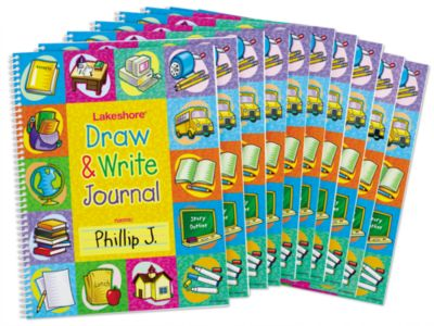 Draw & Write Journal - Set of 10