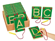 Magnetic Learning Letters - Uppercase
