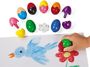 Erasable Egg Crayons