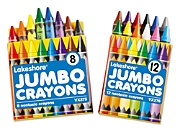Lakeshore Jumbo Crayon Packs