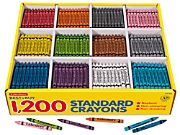 Best-Buy Standard Crayons - 12-Color Box