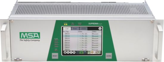 MSA's SUPREMATouch controller unit