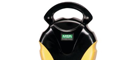 The MSA Workman SRL that helped Benton Jr. go home safely